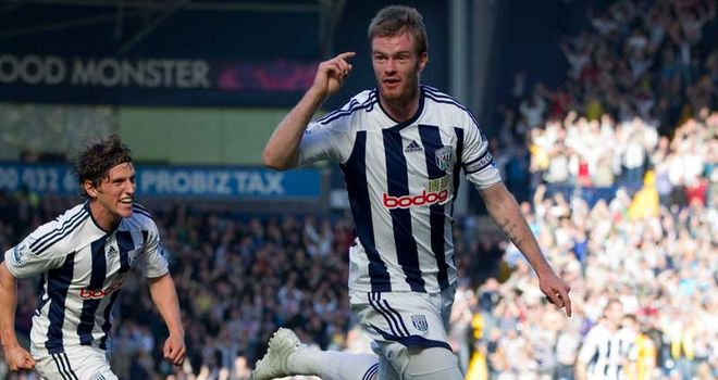 Chris Brunt: Delighted to score first goal from open play since last November