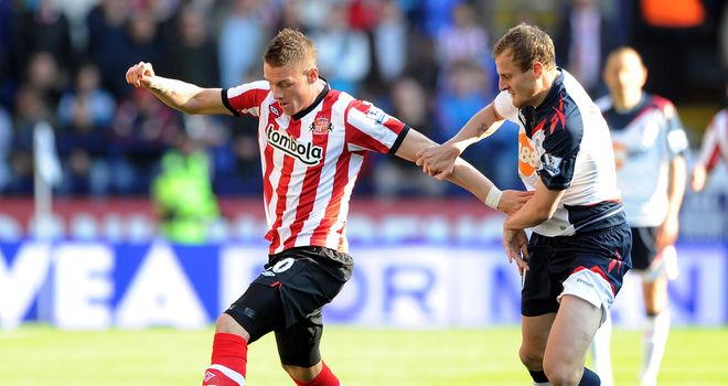 Connor Wickham: The Sunderland teenager is keen to build on making his first start in the Premier League