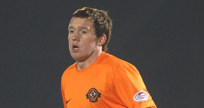 Danny Swanson: Dundee United midfielder has agreed to join Peterborough and is due to sign a two-year deal