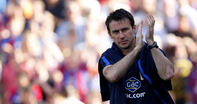 Dougie Freedman: Crystal Palace manager has taken his team from relegation scrap to promotion fight
