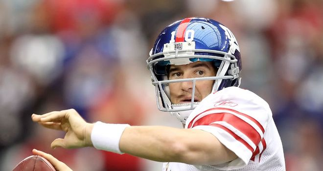 Growing force: New York are sitting pretty under Eli Manning's guidance