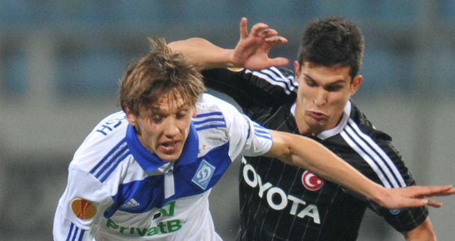 Denys Garmash: Struck in the fourth minute of stoppage-time to hand Kiev all three points