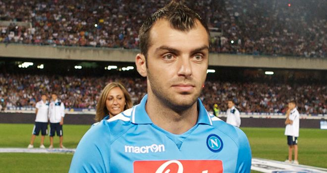 Goran Pandev: Would welcome a permanent stay at Napoli, says his agent