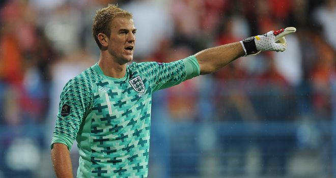 Joe Hart: England goalkeeper ready for friendly clash against Spain