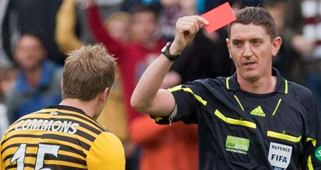 Commons: Sees red at Tynecastle