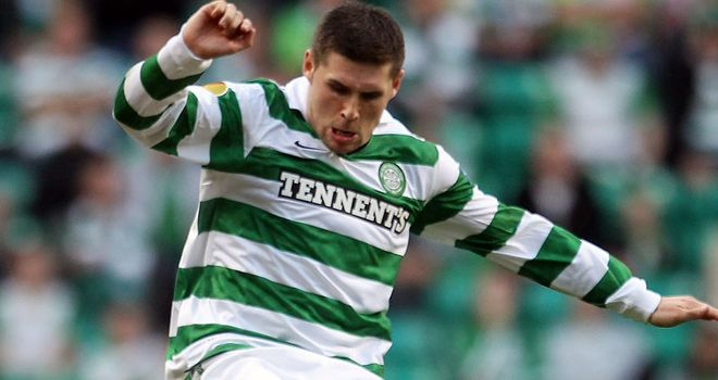 Gary Hooper: Happy to stay at Celtic despite rumours linking him with a move to England