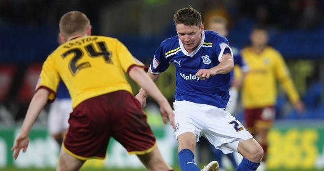 Mason: Scored for Cardiff
