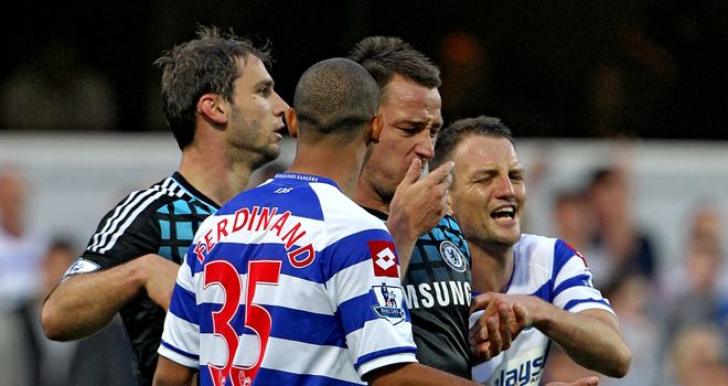 John Terry and Anton Ferdinand will meet for the first time since their October altercation