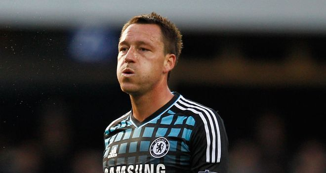 John Terry: Expected to shrug off injury and be fit for Spurs clash