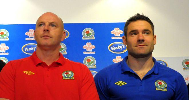 Kean and Dunn: Blackburn midfielder is backing under-fire Rovers boss