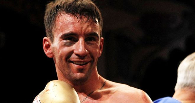 Lee Haskins: No longer the European champion