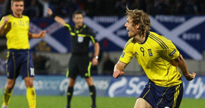 Craig Mackail-Smith: The striker has been highly praised by Scotland boss Craig Levein