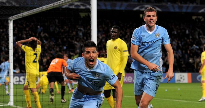 Sergio Aguero: Saved City with the winner three minutes into injury-time