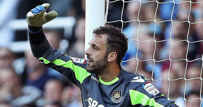 Manuel Almunia: Made four appearances for West Ham during loan spell at Upton Park