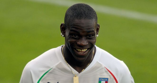 Mario Balotelli: Will be given the opportunity to spearhead Italy's attack