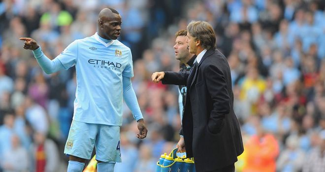 Patrick Vieira: Believes Mario Balotelli has the potential to be a leader