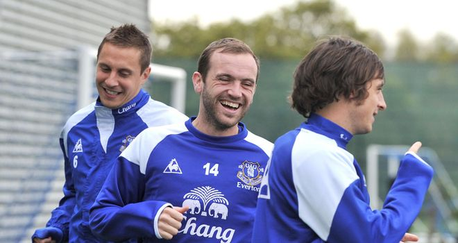 James McFadden: The Everton forward has not played since featuring for Birmingham in September 2010