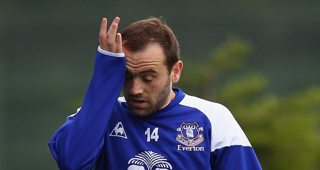 James McFadden: A loan target for Burnley in this month's transfer window