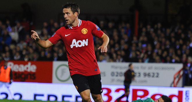 Michael Owen: Manchester United striker eager to play a part in the title run-in