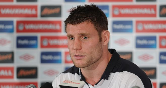 Milner: Happy with spirit of togetherness in the England camp and says there is good banter between players