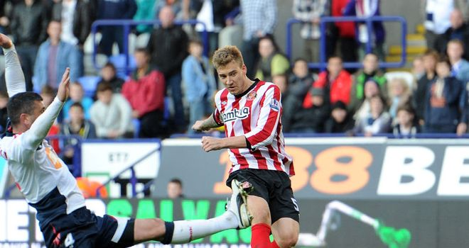 Nicklas Bendtner: The Sunderland striker has the backing of new boss Martin O'Neill