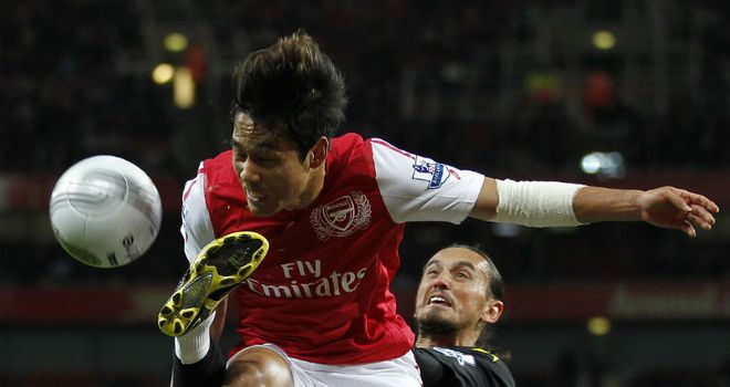 Park Chu-young: Arsenal's South Korea striker ready to answer their call next month