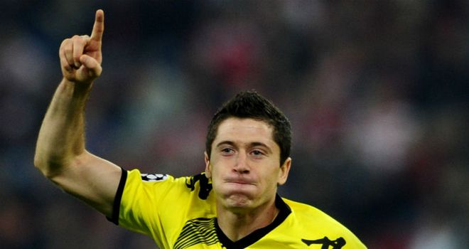 Robert Lewandowski: A bright start to the 2011/12 campaign has attracted interest from afar