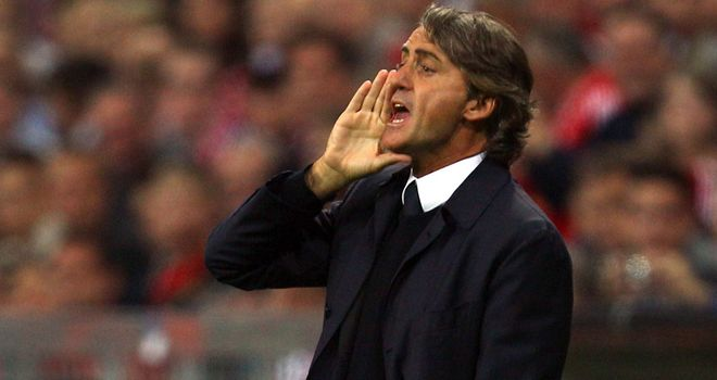 Roberto Mancini: Says the only thing Manchester City are lacking is experience