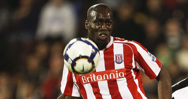 Mama Sidibe: The Stoke City striker is confident he has finally put his injury worries behind him