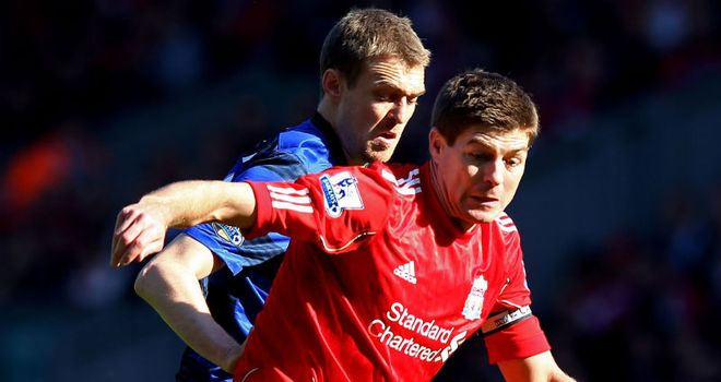 Steven Gerrard: Feared for his career after six months out with groin injury