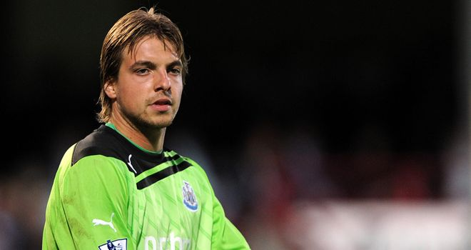 Tim Krul: Dutchman has been in impressive form for Newcastle this season