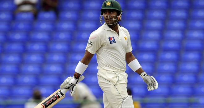 Umar Akmal: misses out on Sri Lanka Test series after run of poor form
