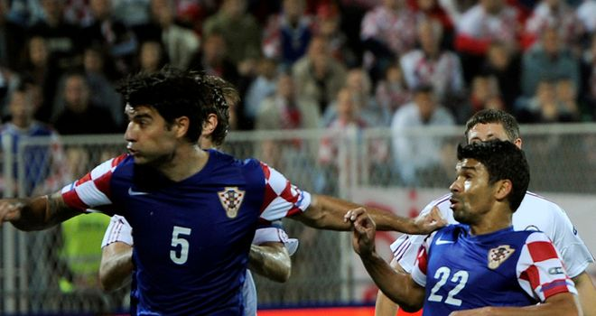 Vedran Corluka: Croatia international says he begged Tottenham boss Harry Redknapp for a move