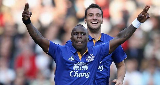Royston Drenthe: Phil Jagielka hopes he will return soon and play a big part for the Toffees