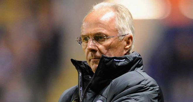 Sven Goran Eriksson: Out of work since leaving Leicester last October