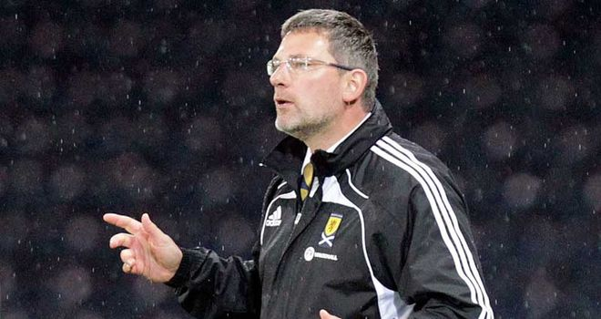 Craig Levein: Waiting on injury news before naming his Scotland side to face Spain