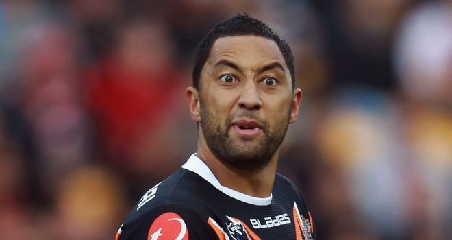 Benji Marshall: Won't get the chance to line up for New Zealand alongside his good friend