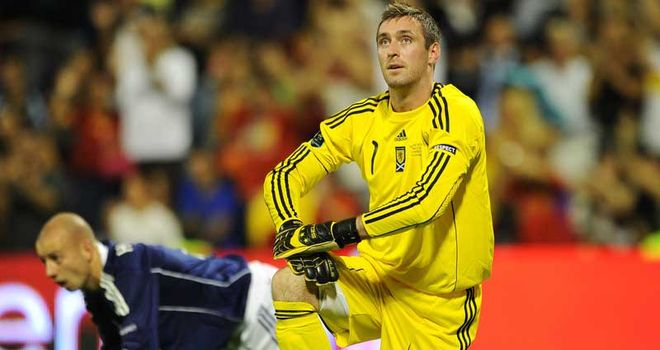 Allan McGregor: Has been named in Levein's Scotland squad