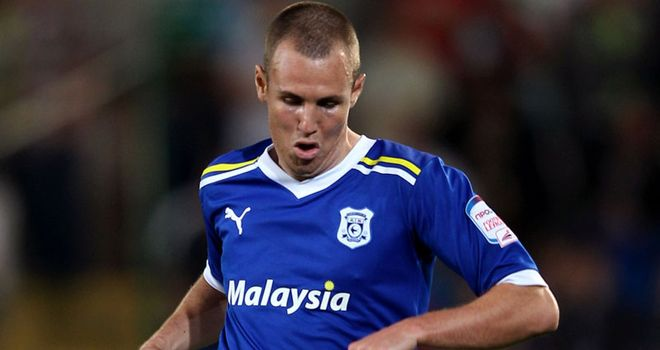 Kenny Miller: Cardiff City striker was taken off against Barnsley with a head injury