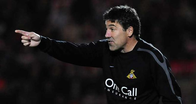 Dean Saunders: Has led Doncaster to three league wins since replacing Sean O'Driscoll