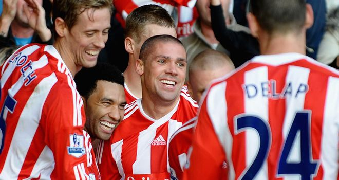 Jon Walters: Scored the opener for Stoke in their victory over Fulham at the Britannia