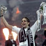 Jonathan Woodgate: Celebrates Tottenham's 2008 success