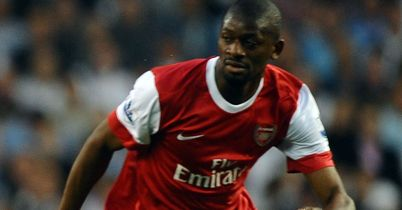 Diaby: Misses out for Gunners