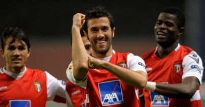 Hugo Viana: Braga midfielder has been called into Portugal's Euro 2012 squad to replace Carlos Martins
