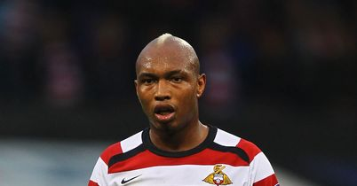 Diouf: Salvaged a draw for Donny