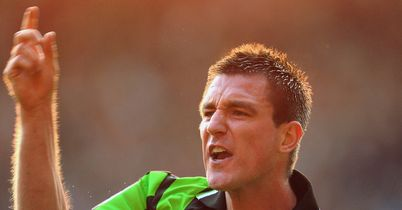 Marcos Painter: Brighton defender claims referee Peter Walton swore at him