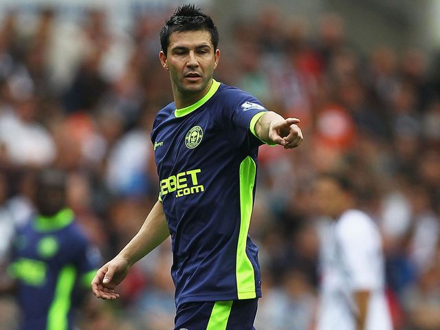 Antolin Alcaraz: Suspended for Stoke clash