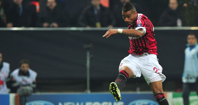Kevin-Prince Boateng: AC Milan star would love to see striker Carlos Tevez at the San Siro