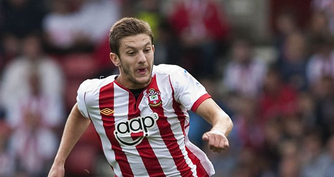 Adam Lallana: Was among the goals as Southampton returned to the top of the table