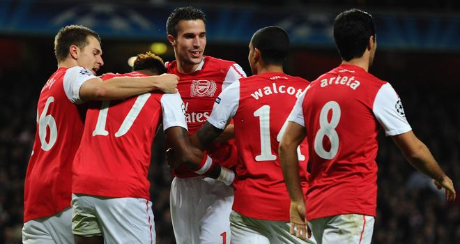 Robin Van Persie: Has been in hot goalscoring form so far this season